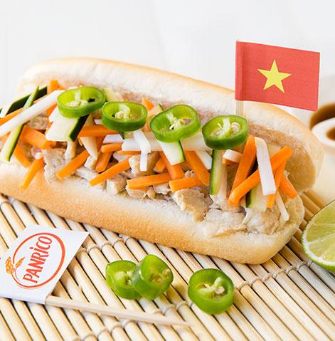 Sanduiche vietnamita (Bánh mì)