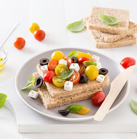 Sanduiche grega
