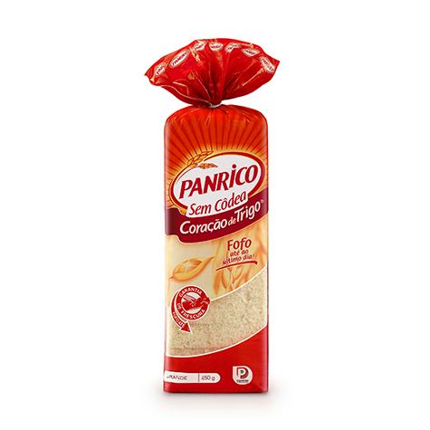 Panrico® Coração de Trigo sem Côdea Branco 450g
