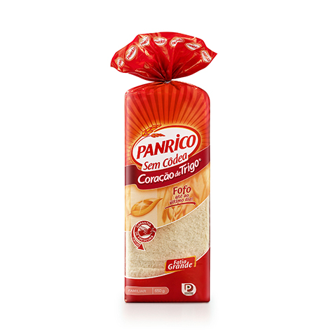 Panrico® Coração de Trigo sem Côdea 650g